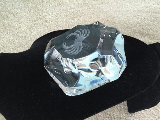 "Other Zodiac ""Cancer"" Lead Crystal Paperweight (Signed and Numbered)"