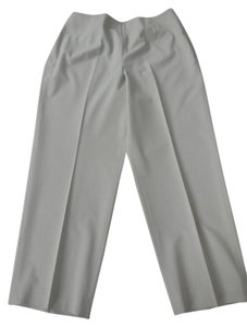 Talbots Petite Side Zip Lightweight Wide Leg Pants Rattan
