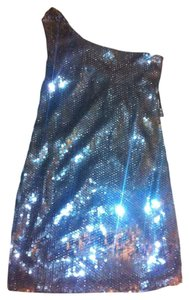 Alyn Paige Sequins Off The Shoulder Retro Dress