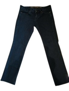 Express Stella Regular Fit Low Rise Size: 8s Straight Leg Jeans-Medium Wash