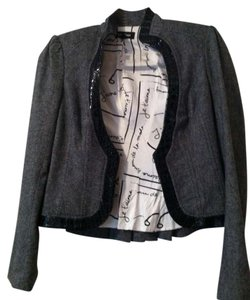 BEBE Black tweed Blazer