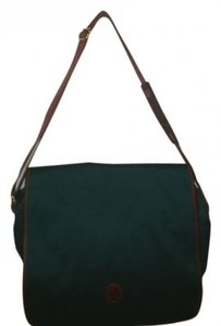 Ralph Lauren hunter green Messenger Bag