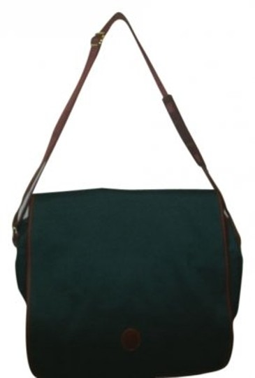 Preload https://item3.tradesy.com/images/ralph-lauren-hunter-green-canvas-messenger-bag-30407-0-0.jpg?width=440&height=440