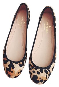 Kate Spade New York Animal Calf Brazil Espadrille Leopard Print Flats