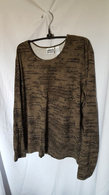 Chico's T Shirt Olive