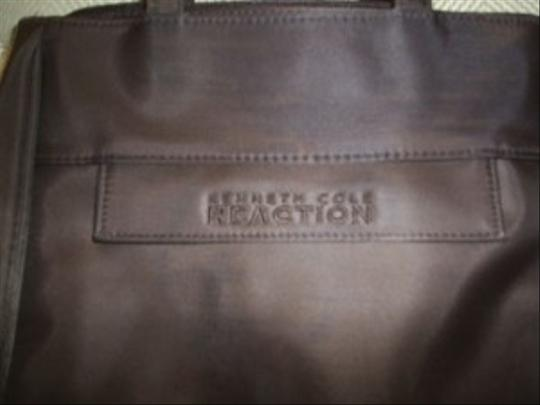 Kenneth Cole Reaction Tote in chocolate brown