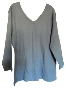 Coldwater Creek T Shirt Periwinkle