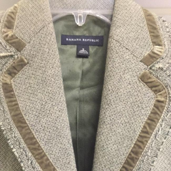 Banana Republic Olive Green Blazer
