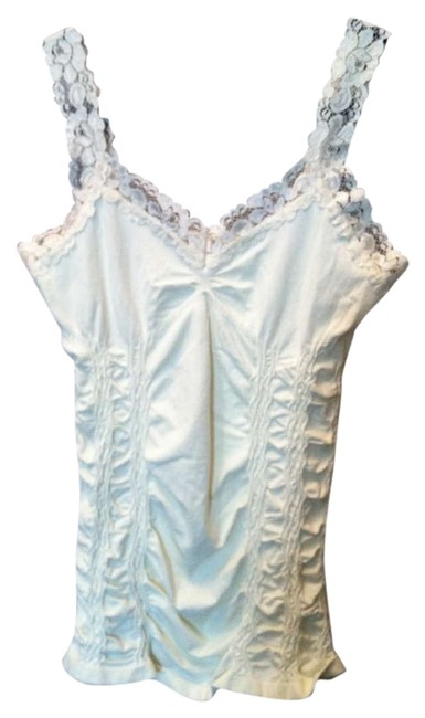 Item - Cream Lace Tank Top/Cami Size OS (one size)