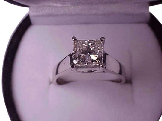 Preload https://img-static.tradesy.com/item/304451/white-208ctw-vs-in-clarity-princess-cut-diamond-gold-ring-0-0-540-540.jpg