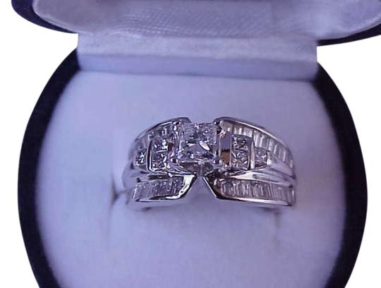 Preload https://item2.tradesy.com/images/white-276ct-princess-baguette-cut-diamond-14k-gold-appraisal-ring-304476-0-0.jpg?width=440&height=440