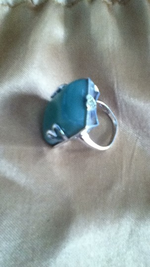 Other silver stone ring