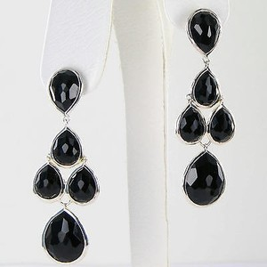 Ippolita Ippolita Rock Candy Stone Drop Earrings Black Onyx Sterling Silver