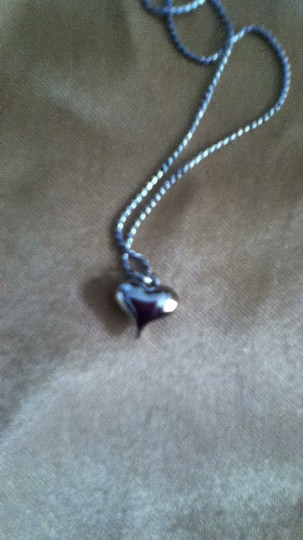 Other silver necklace heart