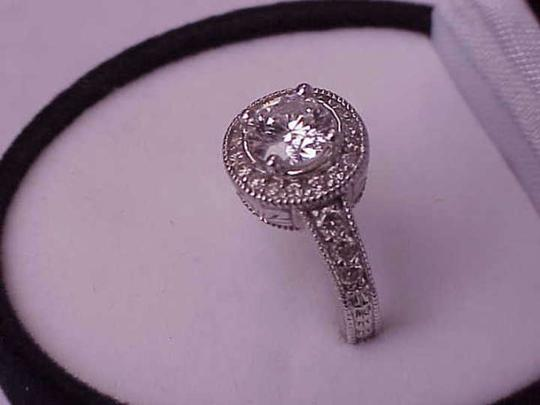 Other $14879 Estate Vintage 1.57ct Solitaire Brilliant Cut Diamond 14k White Gold ring, Appraisal included