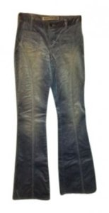 Express Corduroy Sheen New Boot Cut Pants Periwinkle Blue