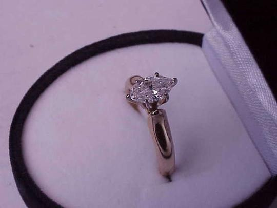 Other $6000 Engagement .80 ct Solitaire Marquise cut Diamond 14k Yellow Gold Ring, Appraisal Included!