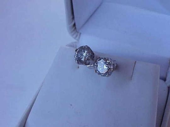 Other $8,300 1.50ct of round brilliant cut diamond studs 14k white gold