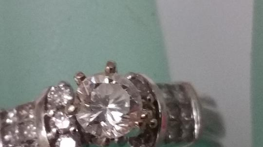 Other $5500 Estate .90ct Solitaire Diamond 14kt White Gold Ring, Appraisal