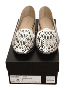 J.Crew Loafers New With Tags Silver Mirrored Metallic Flats