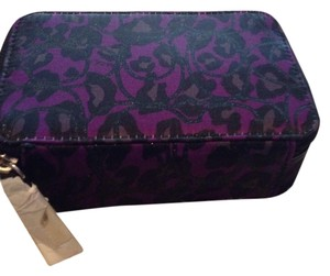 Coach Coach Purple Ocelot Jewelry Box