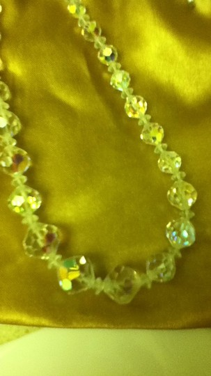Other vintage crystal necklace
