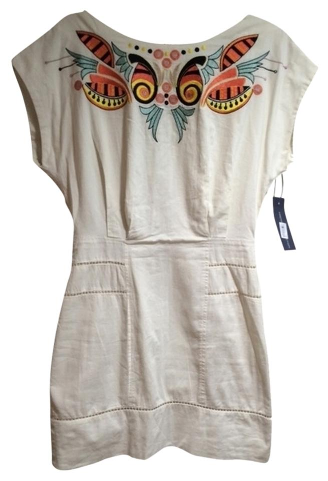 a375f66fb814 French Connection short dress Ivory Embroidered Mini on Tradesy Image 0 ...