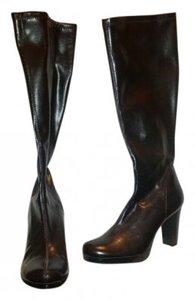 Other Platform .5in 3+in Stack Heel 15in Shaft black Boots
