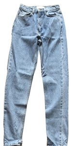 American Apparel Boyfriend Cut Jeans-Medium Wash