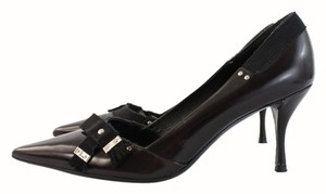 Prada Must Have Leather Black Pumps