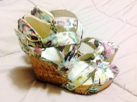 Guess Floral Wedges