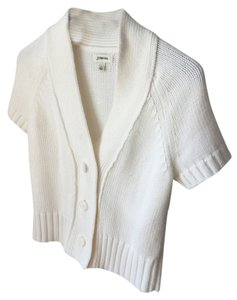 St. John White Summer 's Bay Cardigan
