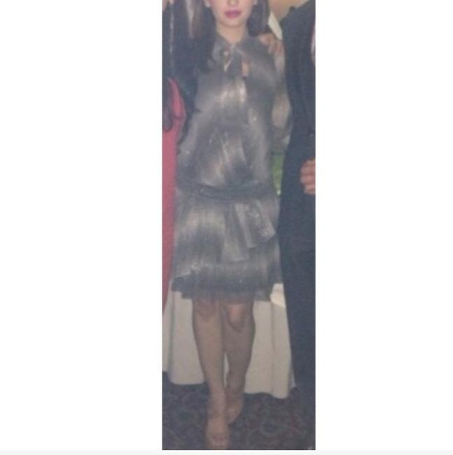 Preload https://item5.tradesy.com/images/emporio-armani-silver-and-black-sparkly-above-the-knee-mid-length-night-out-dress-size-0-xs-3047569-0-1.jpg?width=400&height=650