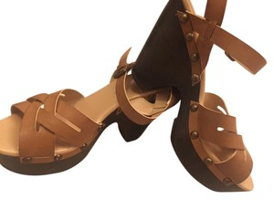 Mossimo Supply Co. Tan Platforms