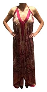 Maroon Maxi Dress by Other Paisley Maxi