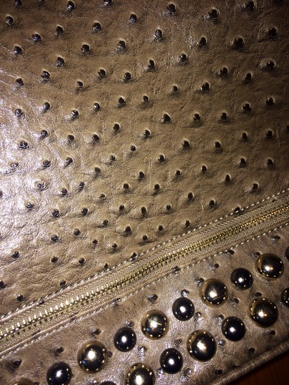Other Studded Faux Tote in Taupe