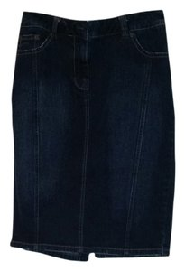 Nordstrom Pencil Denim Jean Skirt Denim Pencil