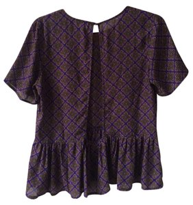 Lucca Couture Top Purple