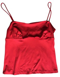 a.aubrey Cropped Crop Top Red