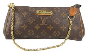 Louis Vuitton Brown, Monogram Clutch