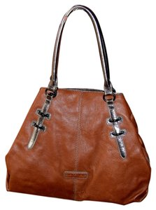 Liebeskind Metallic Copper Scotch Tote in Brown