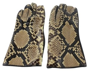 Other Snakeskin Leather Gloves