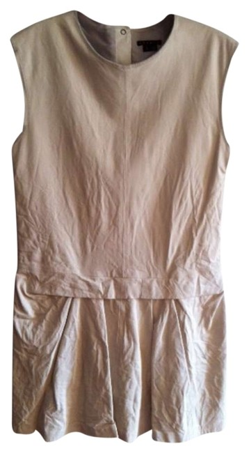 Theory short dress Crinkly Leather on Tradesy