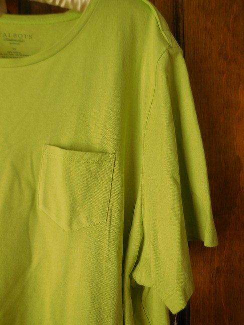 Talbots Plus-size New With Tags Short Sleeve Extra Button Tunic