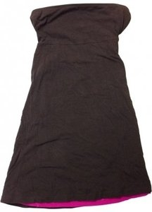 Moda International short dress Brown and Pink on Tradesy