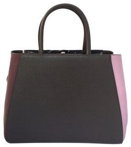 Fendi Tote in Brown Pink Bordeaux