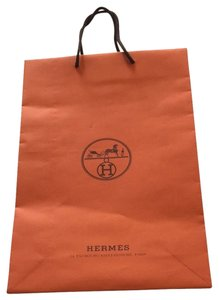 Herms Hermes Paper Bag