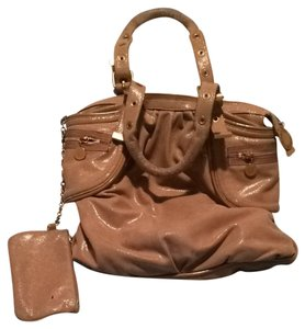 Stella McCartney Satchel in Beige Shimmer