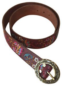 Lucky Brand Lucky Brand Paisley Leather Belt