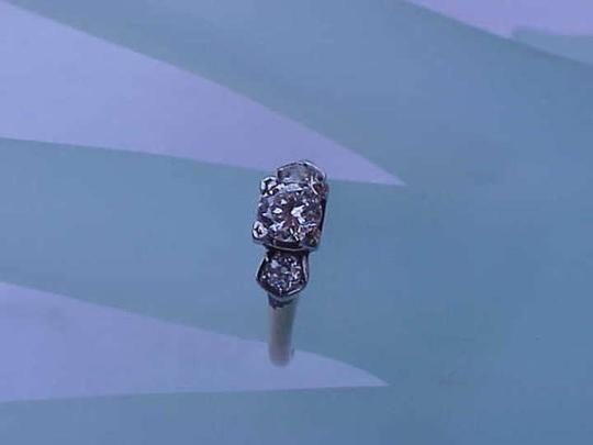 Other Estate Vintage .80ct Billiant cut Diamond 14k Yellow Gold Engagement Ring